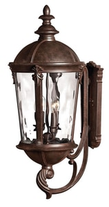 Hinkley Lighting Windsor 32 in. 40W Outdoor Candelabra Lantern H1895