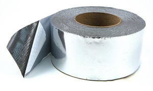 Hardcast Foil-Grip™ 2 in. x 100 ft. Silver Aluminum General Purpose Rolled Duct Sealing Tape HAR304093
