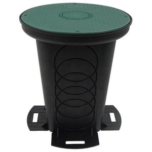 Polylok 12 in. Plastic Distribution Box P301712
