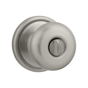 Kwikset Hancock® Privacy Door Knob in Satin Nickel K730H15RCALRCS