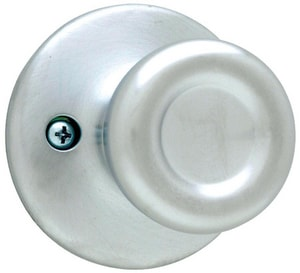 Kwikset Tylo® Half-Dummy Door Knob in Satin Chrome K488T26D