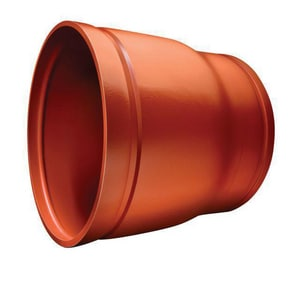 Victaulic Style 50 14 x 12 in. Grooved Painted Advanced Concentric Reducer VWG84050P00-NR