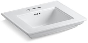 Kohler Memoirs® 3-Hole Pedestal Bathroom Sink Basin K2345-4