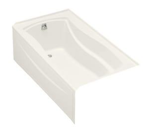 Kohler Mariposa® 66 x 36 in. Left-Hand Drain Integral Apron Bathtubub K1229-LA