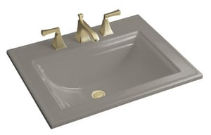 Kohler Memoirs® 1-Hole Drop-In Bathroom Sink K2337-1