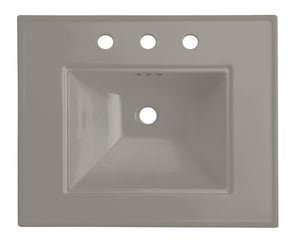 Kohler Memoirs® 24 x 20 in. 3-Hole 8 in. Centers Basin Only Lavatory Sink K2345-8