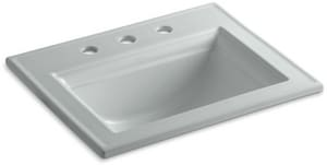 Kohler Memoirs® 1-Bowl Drop-In Lavatory Sink with Centerset Faucet K2337-8