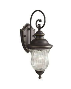 Kichler Lighting Sausalito 100 W 1-Light Medium Hanging Lantern KK9412OZ