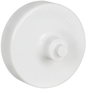 Sioux Chief GripTip™ 1-1/2 in. 200-Pack Test Cap in White S88081