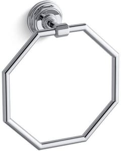Kohler Pinstripe® 7-1/2 in. Towel Ring K13112