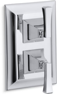 Kohler Memoirs® Valve Trim with Double Lever Handle for Stacked Valve KT10422-4V