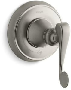 Kohler Revival® Scroll Volume Control Trim in Vibrant Brushed Nickel KT16177-4-BN