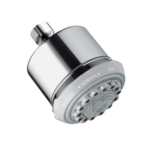Hansgrohe Clubmaster 2.5 gpm 3-Function Wall Mount Showerhead H28496