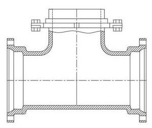 Tyler Union Mechanical Joint Swivel Tee DFBSTLA