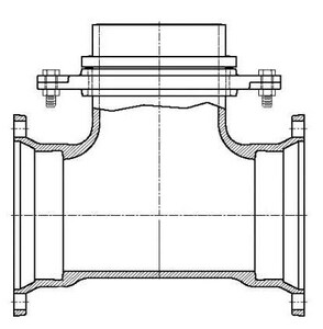 Tyler Union Mechanical Joint x Swivel Domestic Ductile Iron C153 Short Body Tee (Less Accessories) DMJSTLA
