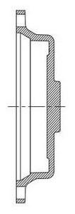 Tyler Union Mechanical Joint Ductile Iron C153 Epoxy Solid Cap DMJELSCLA