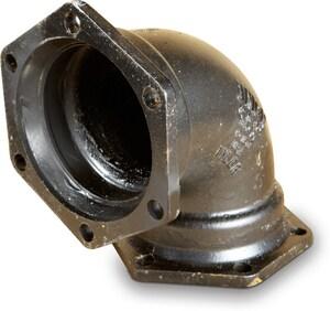Tyler Union Mechanical Joint Domestic Ductile Iron C110 90 Degree Bend (Less Accessories) DFB9LA