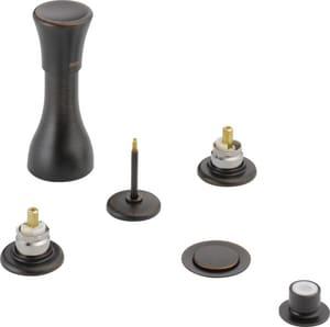Delta Faucet Classic® 4-Hole Rough Brass Bidet Faucet in Venetian Bronze D44RBLHP