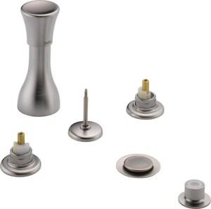 Delta Faucet Classic® 4-Hole Double Knob Handle Bidet Valve with Vacuum Breaker D44LHP