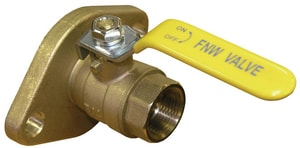 FNW NPT x Threaded Pump Flange Ball Valve FNW470
