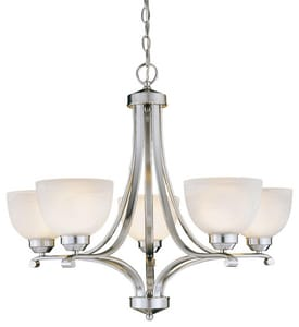 Minka Paradox™ 23-1/2 in. 100 W 5-Light Medium Chandelier M1425