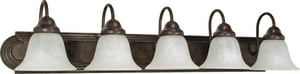 Nuvo Lighting Ballerina 5 Light 100W 36 in. Vanity N60327