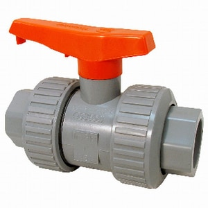 Model D 250 psi Full Port CPVC True Union Ball Valve with EPDM seat CU51TBE