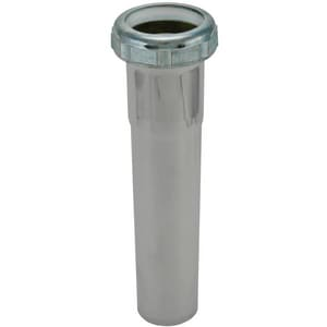 Keeney 1-1/4 in. Straight Basin in Chrome Plated KEE757PCBN