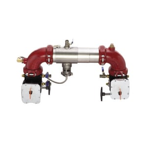 Ames Fire & Waterworks C400 C400 Reduced Pressure Zone Backflow Preventer with Butterfly Valve AC400NBFG
