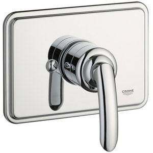 Grohe Talia® Pressure Balancing Valve Trim Set with Lever Handle in Starlight Polished Chrome G19264000