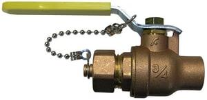 FNW Sweat x Hose Brass Full Port Ball Valve FNW427F