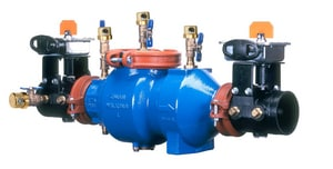 Wilkins Regulator Model 350 Epoxy Coated Ductile Iron Grooved 175 psi Backflow Preventer W350ABGVIC