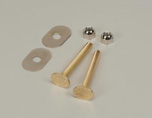 PROFLO® Brass Closet Bolt Pair PFC2110