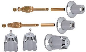 Brass Craft Central Brass Tub and Shower Rebuild Kit in Chrome BSK0046