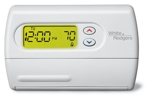 White Rodgers 5 + 1 + 1 Day Programmable H Power Thermostat W1F80361