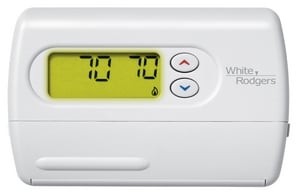 White Rodgers Non Programmable B Power Digital Thermostat W1F86344