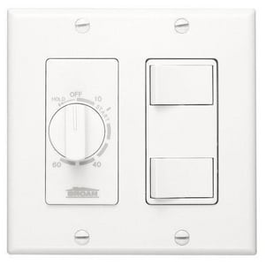 Broan Nutone 62W Time Control in White B62W