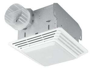 Broan Nutone 80 CFM 2.5 Sone Commercial Fan/Light BHD80L