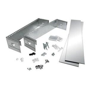 Jensen Metro 25 in. Small Sided Steel Oversized Mirror Kit R760025