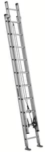 Louisville Ladder Aluminum Heavy Duty Extension Ladder LAE22