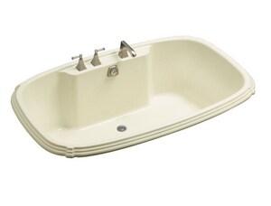 Kohler Portrait® 22 x 67 x 42 in. 96 gal Drop-In Bathtub with Center Drain K1454