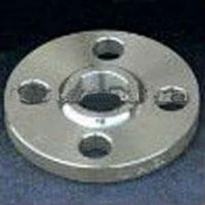 Merit Manufacturing 4 x 6 in. 150# Carbon Steel Flat Face Slip On Flange M42060040