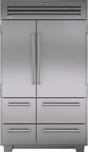 Sub Zero 18.4 CF 48 in. Solid Door Refrigerator in Stainless Steel S648PRO