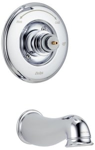 Delta Faucet Lockwood™ 2.5 gpm Tub and Shower Non-Diverter Trim Kit with Single Lever Handle and Non-Diverter Spout (Trim Only) DT14140LHP