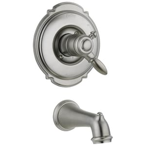Delta Faucet Victorian® 2 gpm Tub Trim Kit with Single Lever Handle (Trim Only) DT17155