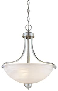 Minka Paradox™ 100W 3-Light Pendant with French Scavo Glass M1426
