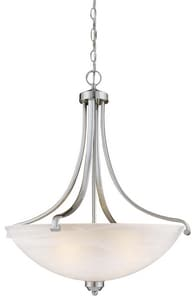 Minka Paradox™ 100 W 4-Light Medium Pendant in Brushed Nickel M142284