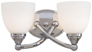Minka Taylor Bath 6-1/4 in. 100 W 2-Light Medium Bracket M584277