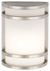 Minka-Lavery Bay View™ 9-1/2 in. 60W Medium Lantern in Brushed Stainless Steel M9801144