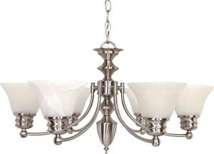 Nuvo Lighting Empire 6 Light 60W Chandelier NUV60356